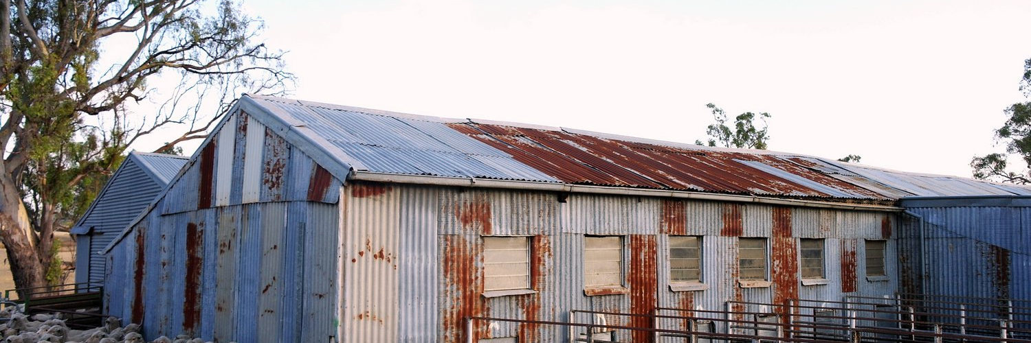 Redesdale shearing shed
