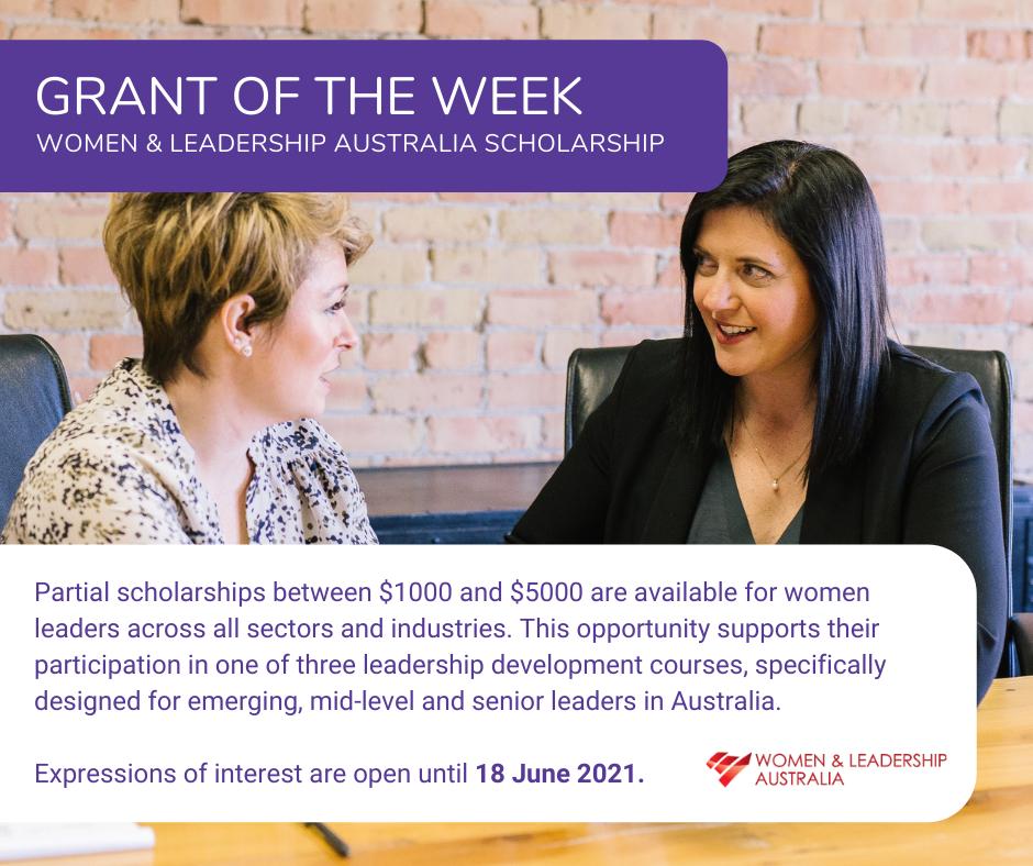 Women's Leadership Scholarships